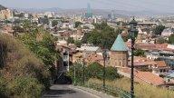 Тбилисина спуске с Нарикала