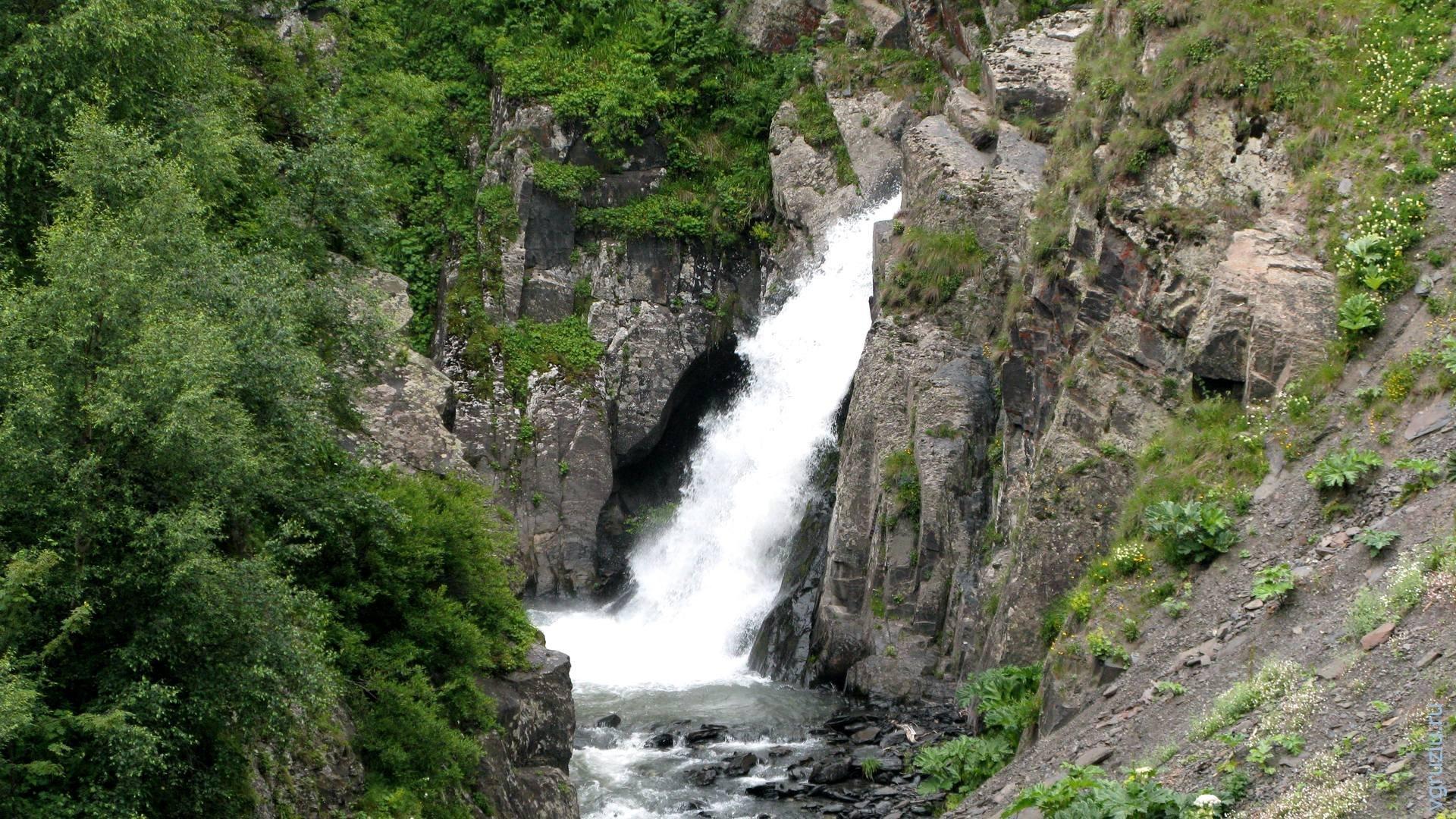 тушети водопад